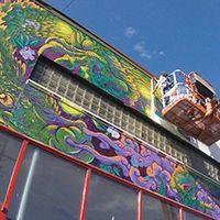 Amie Villiger Harris '13 conjures Appalachian magic in Whitesburg mural