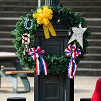 Veterans Day wreath