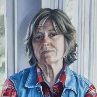 Self-Portrait of Deb Clem.