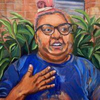 Painting by Devan McDowell